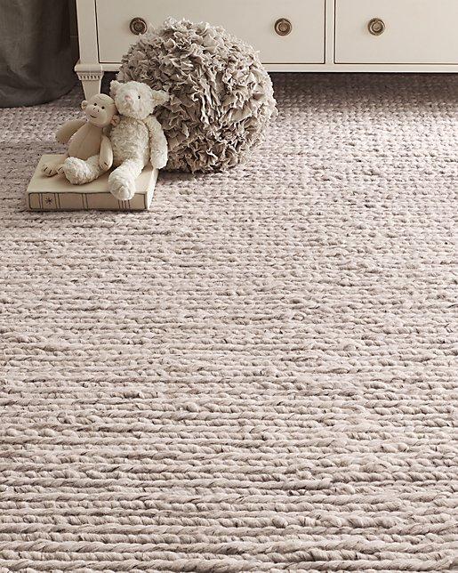 Chunky Braided Wool Rug
