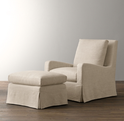 belgian slope arm swivel glider replacement slipcover