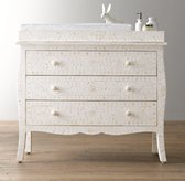 Amira Mosaic Inlay Dresser & Topper Set
