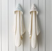 Bouclé Cloud Hooded Towel - Baby