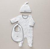 Petite Nursery Star Jersey Infant Gift Set - Grey