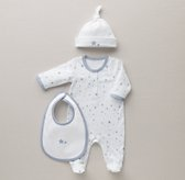 Petite Nursery Star Jersey Infant Gift Set - French Blue