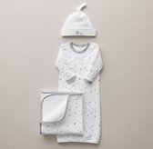 Petite Nursery Star Jersey Newborn Gift Set - Grey