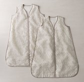 Washed Organic Linen Infant Sleep Bag - Flax