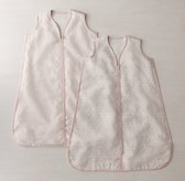 Washed Organic Linen Infant Sleep Bag - Petal