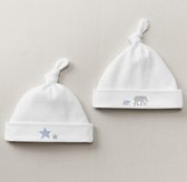 Petite Nursery Jersey Hat Set of 2 - French Blue