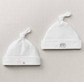 Petite Nursery Jersey Hat (Set of 2) - Petal