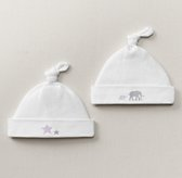 Petite Nursery Jersey Hat Set of 2 - Lilac