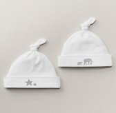 Petite Nursery Jersey Hat Set of 2 - Grey