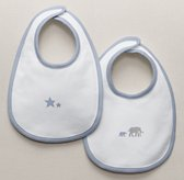 Petite Nursery Jersey Bibs Set of 2