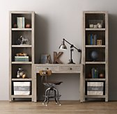 Weller Study Wall Set, Bookcase Towers