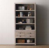 Weller Storage Media Bookcase Set