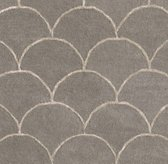 Scallop Wool Rug Swatch