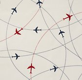 Airplane Route Sheeting Swatch