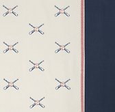 Baseball Percale Bedding Swatch