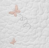 Vintage-Washed Butterfly Bedding Swatch