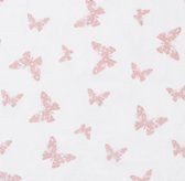 Stamped Butterfly Sheeting Swatch