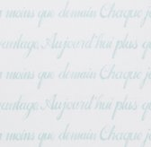 French Poetry Percale Bedding Swatch