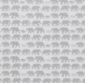 Elephant Print Bedding Swatch