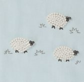 Hand-Knotted Sheep Bedding Swatch