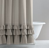 Frayed Ruffle Shower Curtain