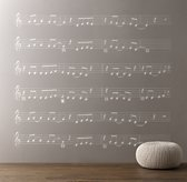 Forever Young Sheet Music Decal - Ivory