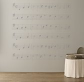 You Are My Sunshine Sheet Music Decal - Grey