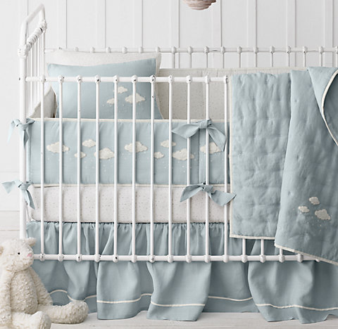 Free Shipping Bouclé Cloud Nursery Bedding Collection