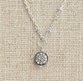 Diamond Pavé Charm - Sterling Silver