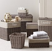 Normandy Textured Cotton Storage Liners