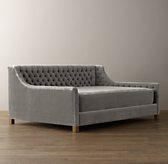 Daybed Mattress Velvet Slipcover