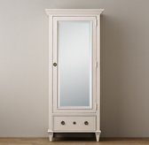 Haylan Single Armoire With Mirror Door