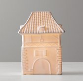 Illuminated Porcelain French Carriage House