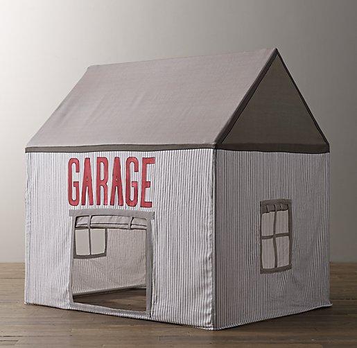 Petite Garage Playhouse