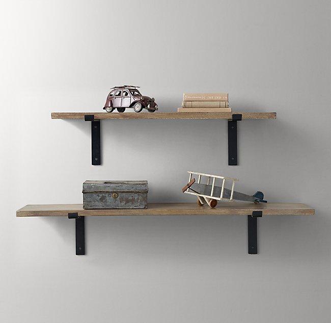 87bf81d1e458 ... Pd Illum 0 Wid 650. Plank Shelf Brackets Set Natural