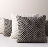 Textural Knit Pillow Cover & Insert