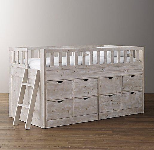 Callum 8 Drawer Storage Loft Bed