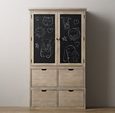 Tribeca Storage - Double Chalkboard Cabinet Top
