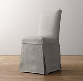 Asher Chair Velvet Custom Slipcover