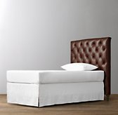 Chesterfield Tufted Leather Headboard