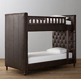 Chesterfield Leather Bunk Bed