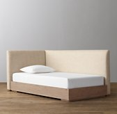 Parker Upholstered Corner Bed With Platform