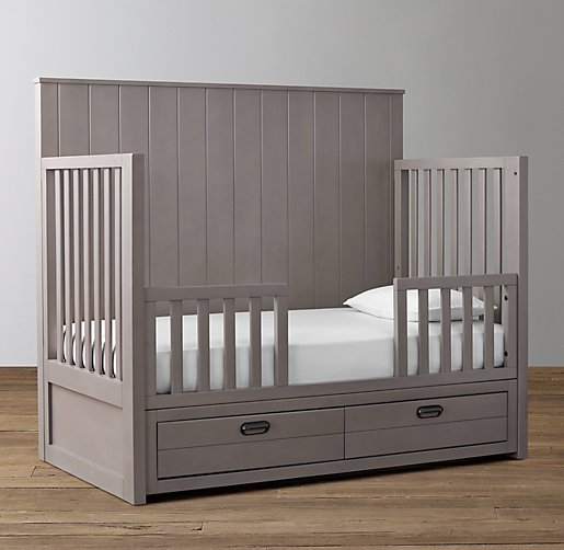 Haven Storage Conversion Crib Toddler Bed Kit
