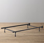 Metal Bed Frame With Feet