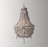 Anselme Small Chandelier - Silver Grey