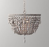 Anselme Medium Pendant - Silver Grey