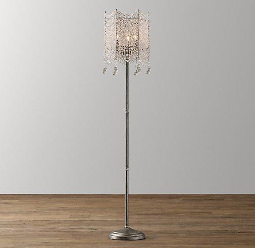 Coco crystal floor lamp