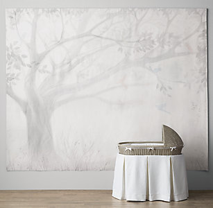 Tapestries decals rh baby child storybook tree grand canvas wall tapestry gumiabroncs Image collections