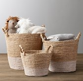 Banded Seagrass Basket