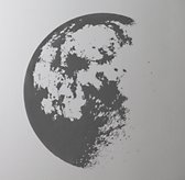 Moon Wall Decal - Grey